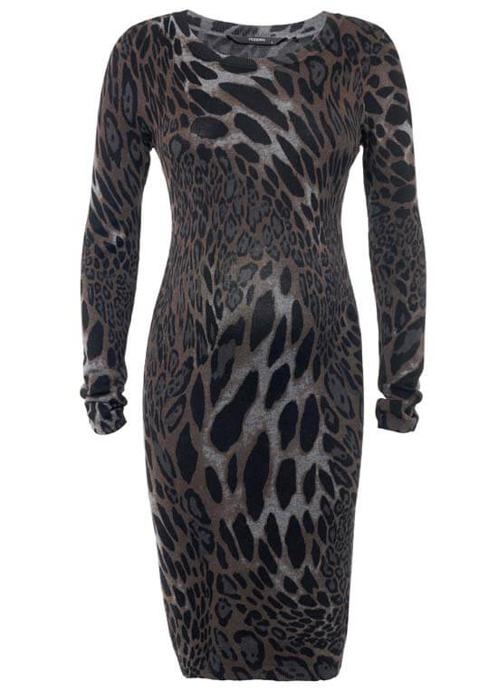 Queen Bee Seya Cheetah Print Maternity Dress by Noppies