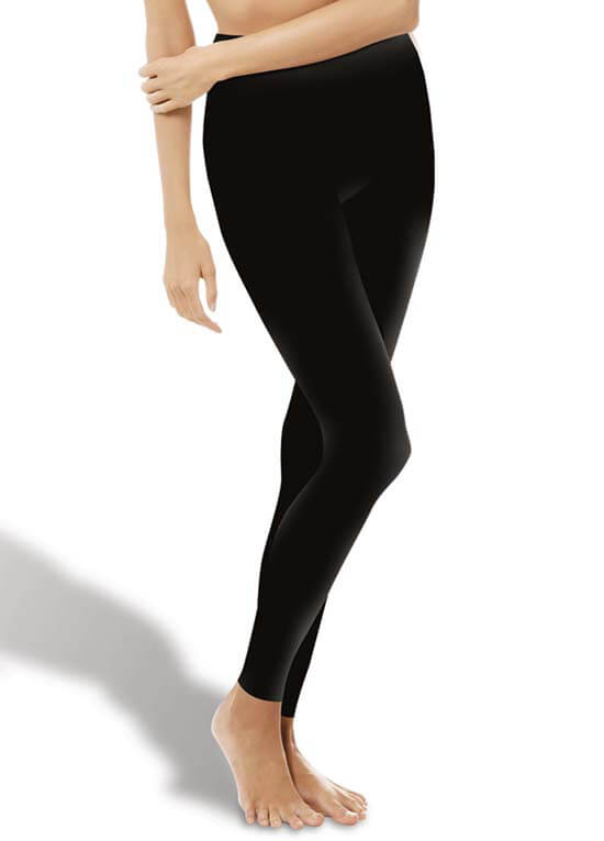 Queen Bee Seamless Maternity Over Belly Leggings in Black by Fertilemind
