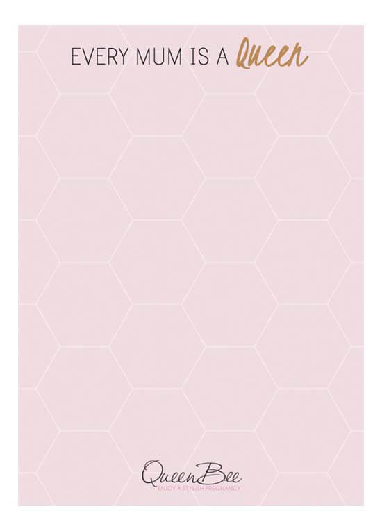 Queen Bee Every Mum is a Queen Notepad by Queen Bee