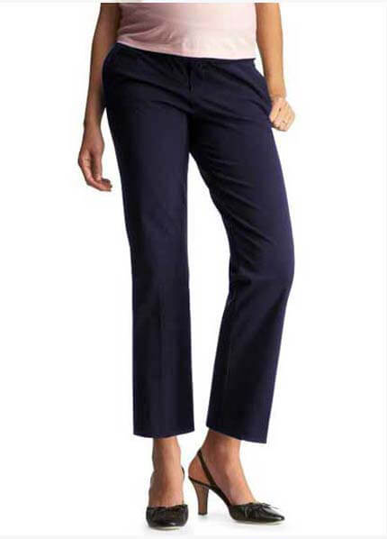 Queen Bee QueenBee - Maternity Capris in Navy * ON SALE * SOLD OUT