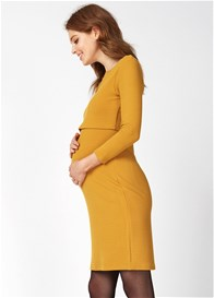 Queen mum - Harvest Gold Nursing Dress