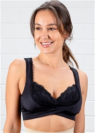 QueenBee® - Della Nursing Bra in Black