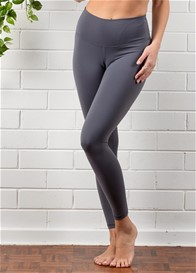 QueenBee® - Ivy Everyday Post Maternity Legging in Pewter