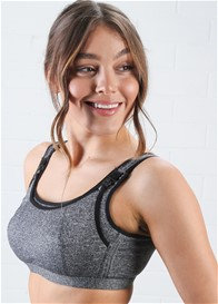 QueenBee® - Luka Nursing Sports Bra in Black