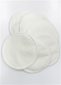 QueenBee® - Resuable Bamboo Breast Pads (3 Pairs) in Natural