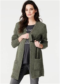 Supermom - Ivy Green Cardigan w Sash