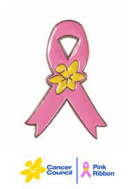 Pink Ribbon - Enamel Lapel Pin