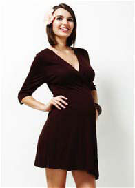 Trimester™ - Enchanted Jersey Wrap Dress - ON SALE