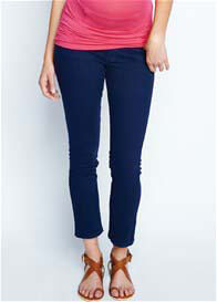 Maternal America - Navy Skinny Ankle Jeans