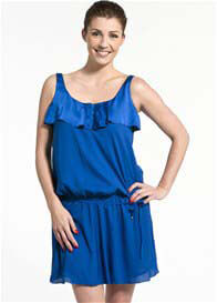 Pomkin - Joanna Indigo Breastfeeding Dress - ON SALE
