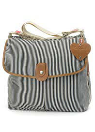 Babymel - Navy Stripe Satchel