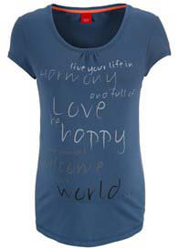 Esprit - Wellness Harmony Tee in Blue - ON SALE