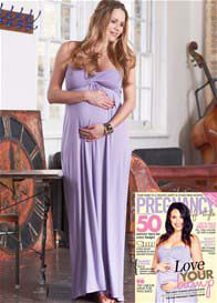 Floressa - Callie Nursing Maxi Dress