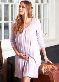 Floressa - Tahlia Lilac Hospital Nursing Gown