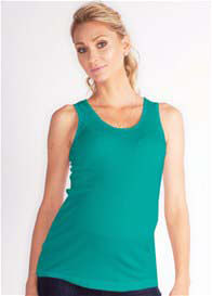 LA Made - Lana Tank in Green - ON SALE