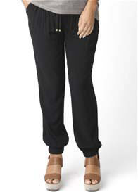 Ripe Maternity - Black Fluid Pants - ON SALE