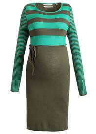 Esprit - Laurel Candy Green Striped Knit Dress - ON SALE