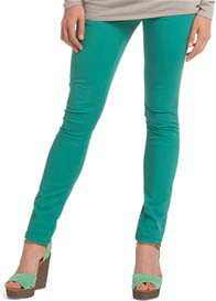 Esprit - Crystal Green Slim Leg Jeans - ON SALE