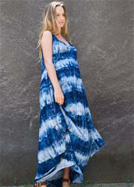 Fillyboo - Story Of Maxi Dress in Batik Blue - ON SALE