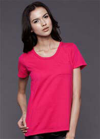 Dote - Pocket Nursing Tee in Fuchsia