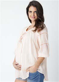 Ripe Maternity - Cheesecloth Baby Doll Top