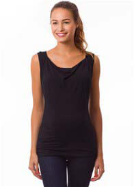 Pomkin - Milkizzy Marie Nursing Top in Black