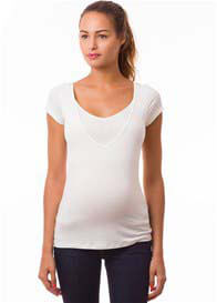 Pomkin - Milkizzy Lise Nursing Top in Ecru - ON SALE