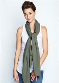 Maternal America - Nursing Scarf in Olive