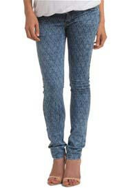 Esprit - Ornamental Vintage Print Skinny Jeans - ON SALE