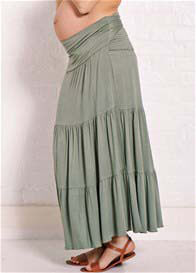 Trimester™ - Perry Tiered Wrap Maxi Skirt - ON SALE