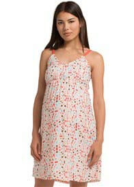 Esprit - Hot Coral Print Cami Dress