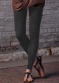 Preggers - Compression Leggings in Coal