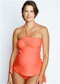 Maternal America - Eva Tankini in Peach