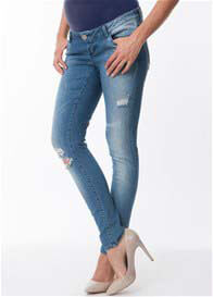 Seraphine - Ripped Skinny Jeans