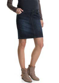 Esprit - Over Bump Denim Skirt - ON SALE