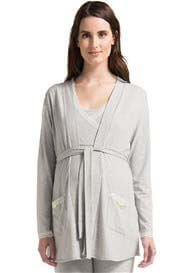 Noppies - Carline Jersey Cardigan in Light Grey