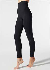 Blanqi - High Waist Postpartum Leggings in Black