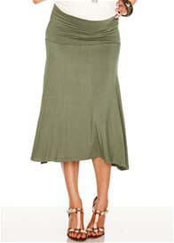 Trimester™ - Obsession Jersey Skirt in Army