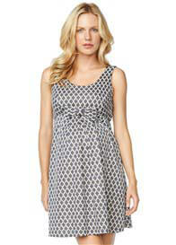 Maternal America - Mosaic Bow Dress