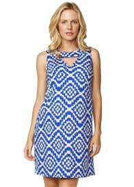 Maternal America - Tapestry Keyhole Dress