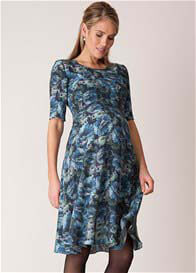 Seraphine - Luxe Crepe de Chine Floral Dress