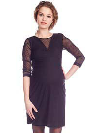Queen mum - Elegant Black Lace Dress