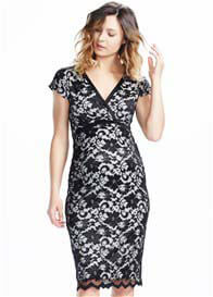 Soon Maternity - Pretty Black Lace Dress