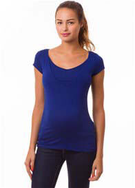 Pomkin - Milkizzy Lise Nursing Top in Blue