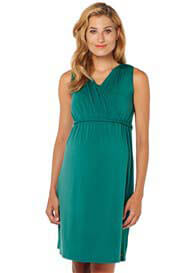 Esprit - Green Sleeveless Nursing Dress