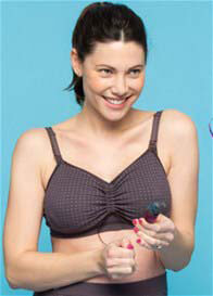 Amoralia - One & Only Seamless Nursing Bra in Pewter Spot