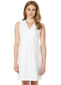 Noppies - Lima Linen Dress in White
