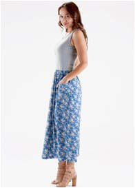 Floressa - Hunter Nursing Maxi Dress