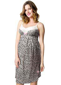 HOTmilk - Charm Nursing Nightie in Floral Print