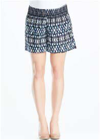Soon Maternity - Nala Shorts in Streaky Print